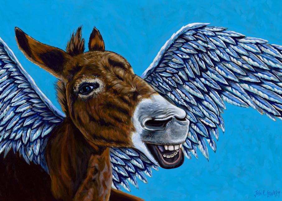 Flying Donkey Fly