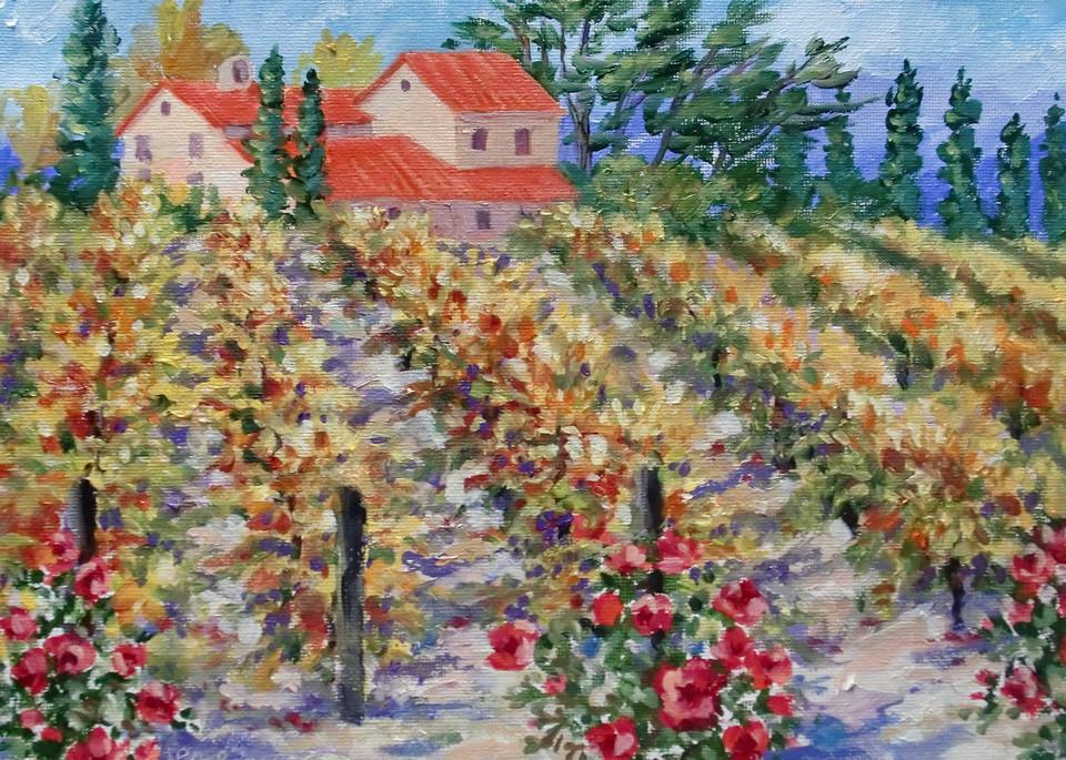 """Fall Vineyard"" by Jean Pierre DeBernay   Prophetics Gallery"