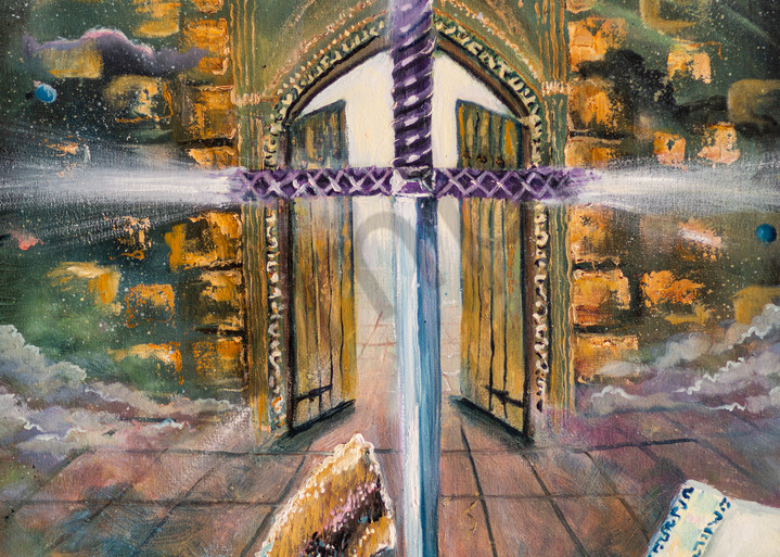 """""""Psalm 24"""" by United Kingdom Artist Yvonne Coombs 