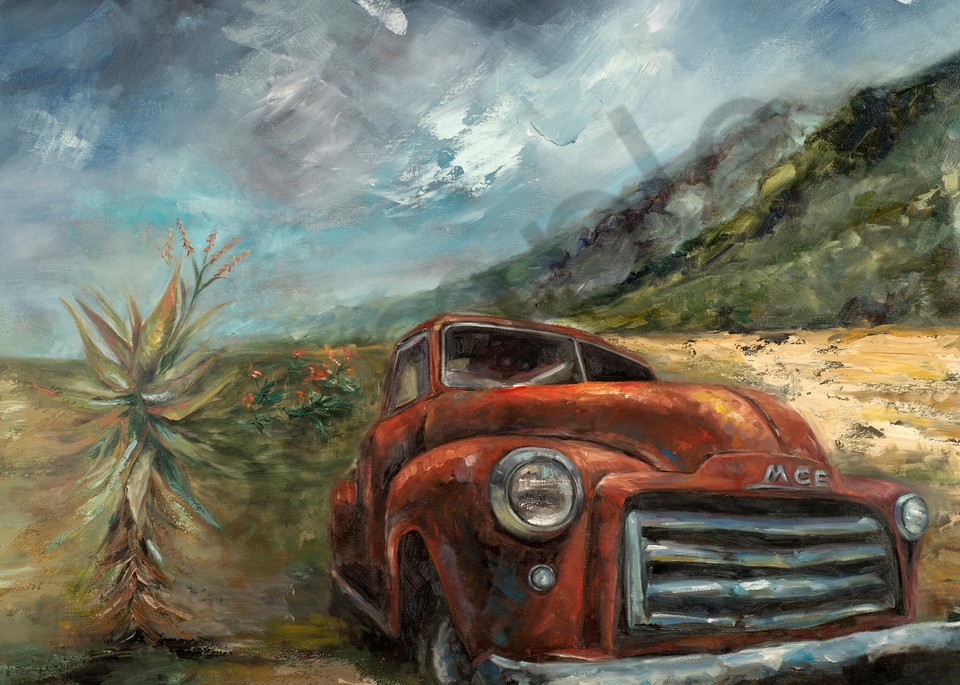 """""""I Make All Things New"""" by South African Artist Ronel Eksteen 