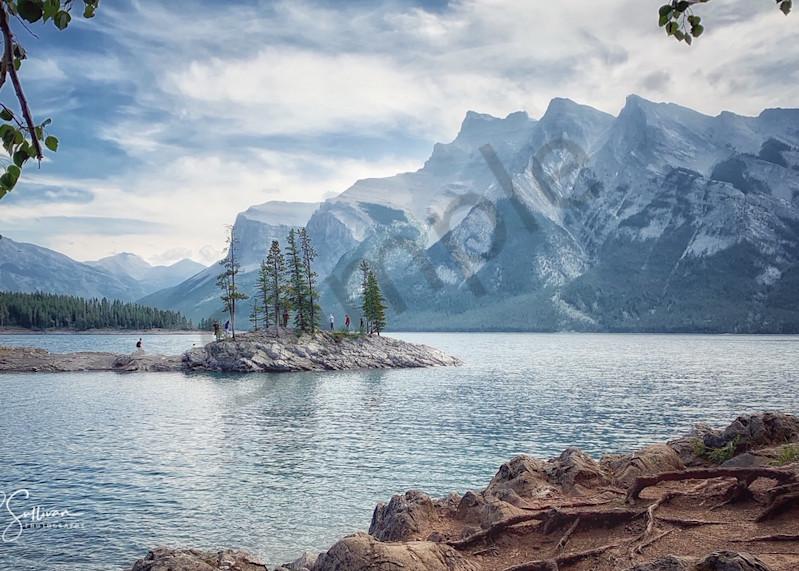 Lake Minnewanka Banff Canada - fine art print photography - Canadian Lake
