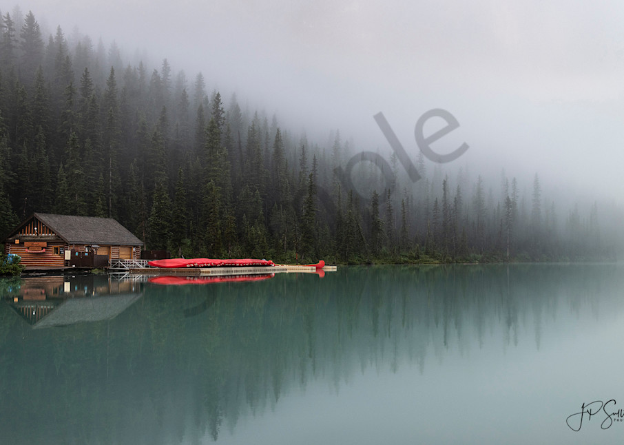Lake Louise - fine art photography prints - turquoise colored water - JP Sullivan Photography - Canada