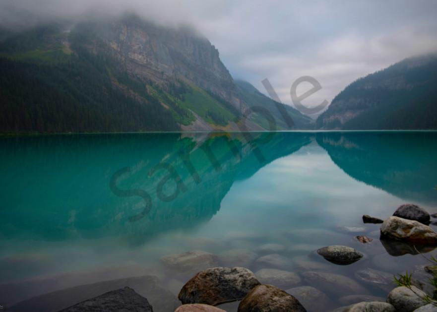 Lake Louise mystic reflection - Banff Canada - fine art photography print - Canada - JP Sullivan Photography, Inc