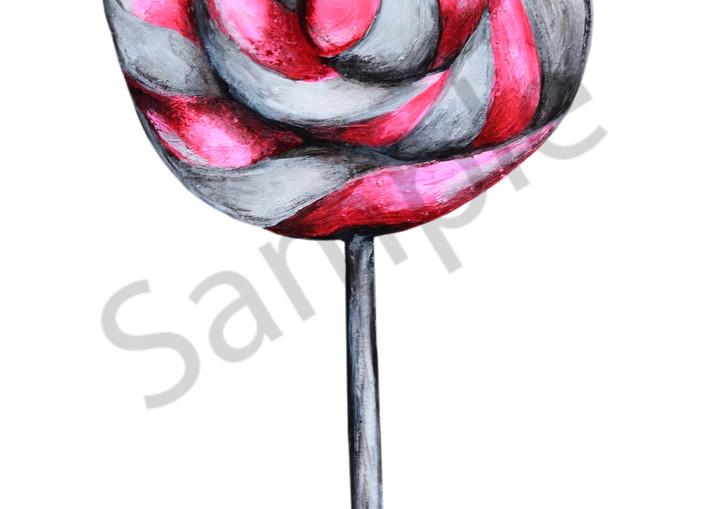 Lollipop Art   Art By Dana