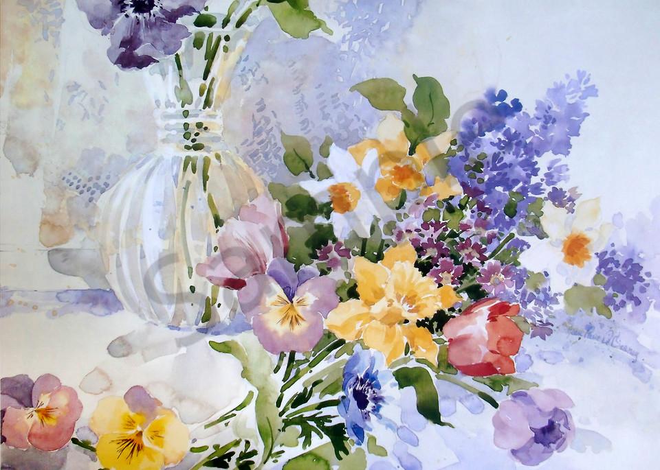 """Spring Bouquet"" by Jean Pierre DeBernay | Prophetics Gallery"