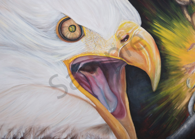 """""""The Vision"""" by South African Artist Trudie Oosthuizen   Prophetics Gallery"""
