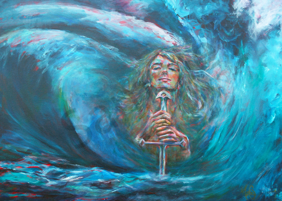 """""""Storms Create Beauty"""" by California Artist Mary Crawford 