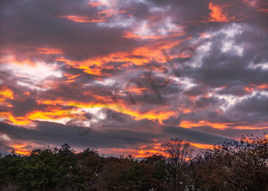 Majestic Atlanta Sunset | Susan J | Fine-art photography