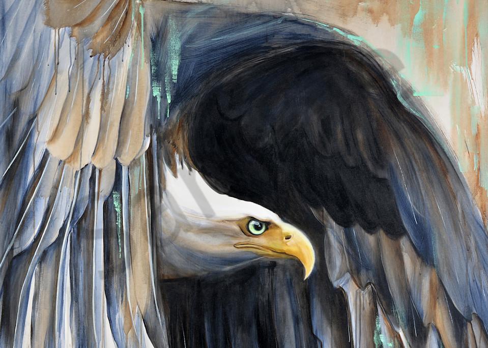 """Undaunted - Eagle"" by Connecticut Artist Mandy Adendorff   Prophetics Gallery"