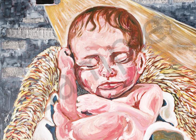 """Unto Us a Child is Born""  by Arizona Artist Heidi Ngai | Prophetics Gallery"