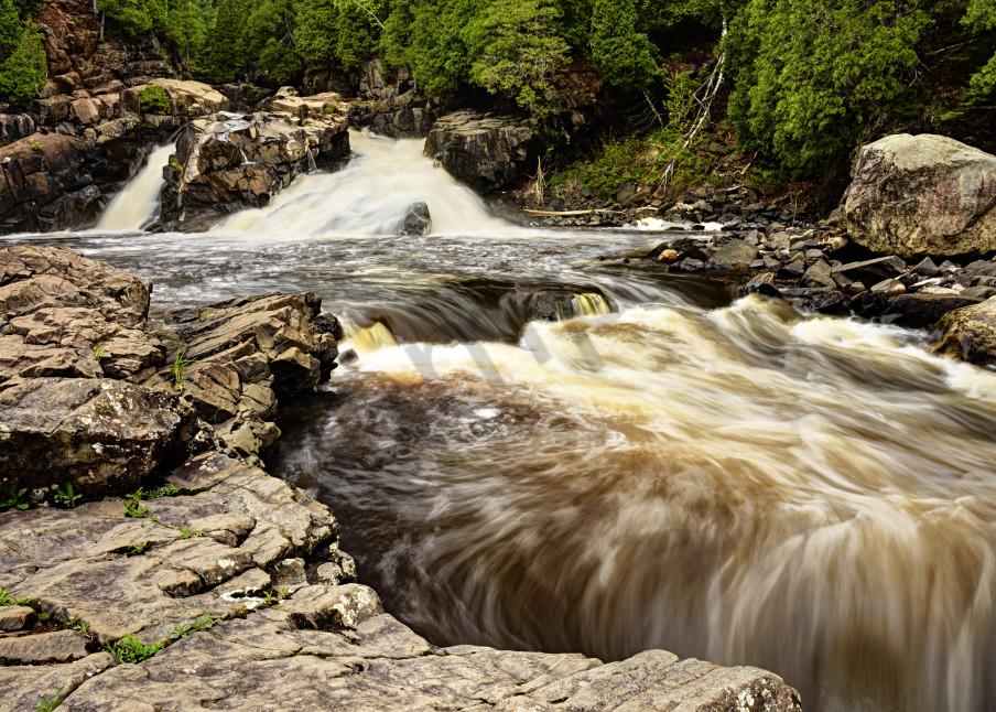 Cascade Falls Photography Art | LHR Images