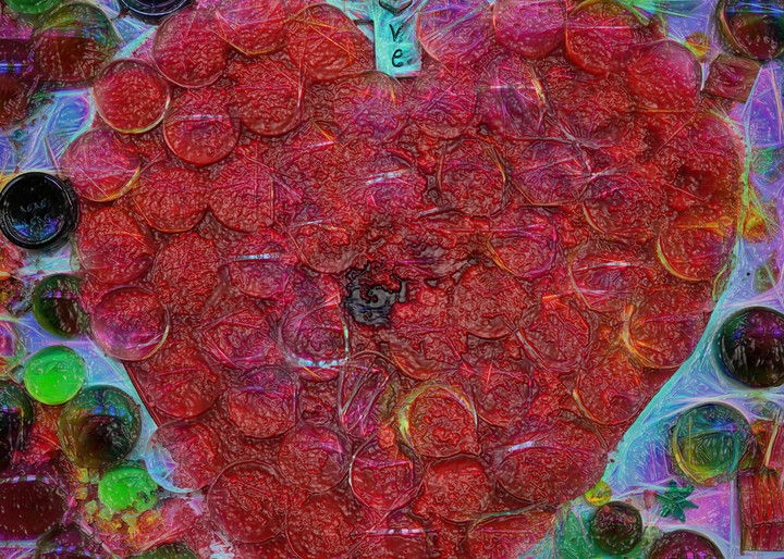 Candy Heart Fine art photography by artist Todd Breitling