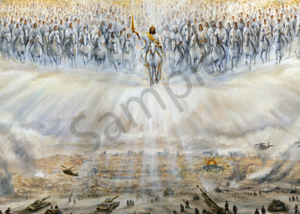 """When Jesus Returns"" by Canadian Artist Melani Pyke | Prophetics Gallery"