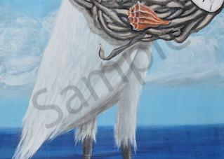 Egret Greetings Art | Shore Paintings
