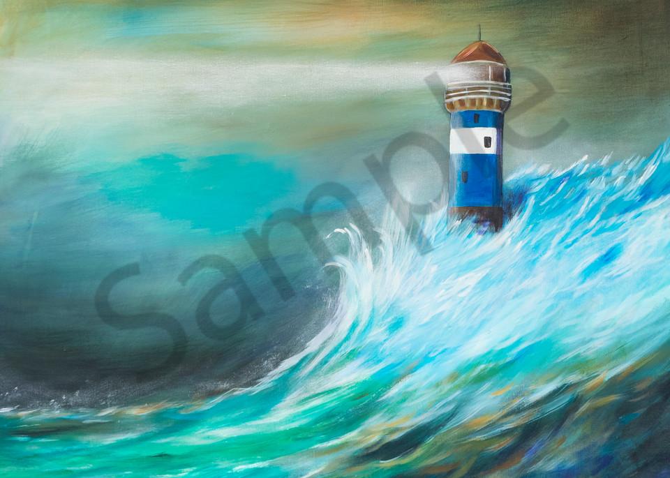 """Lighthouse"" by German Artist Angela Günther   Prophetics Gallery"