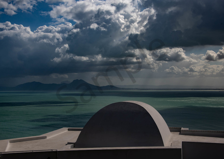 Rain Clouds Over The Mediterranean  Photography Art | Avner Ofer Photography