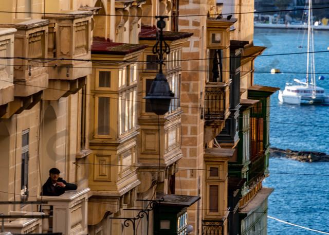 My Maltese balcony