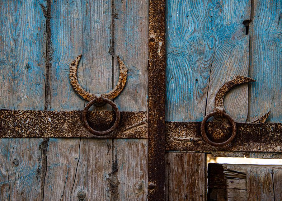 Crescent moon door handles