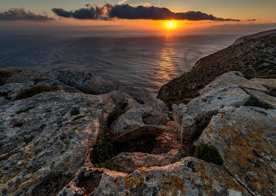Dingli Cliffs sunset Malta