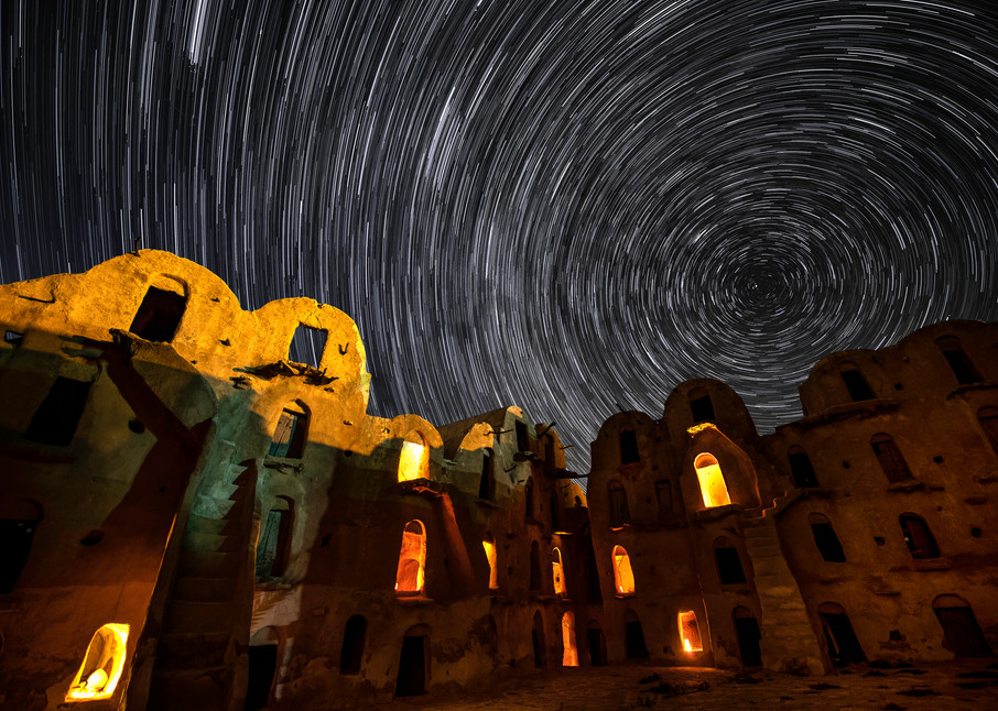 Berber Ksuar star trail