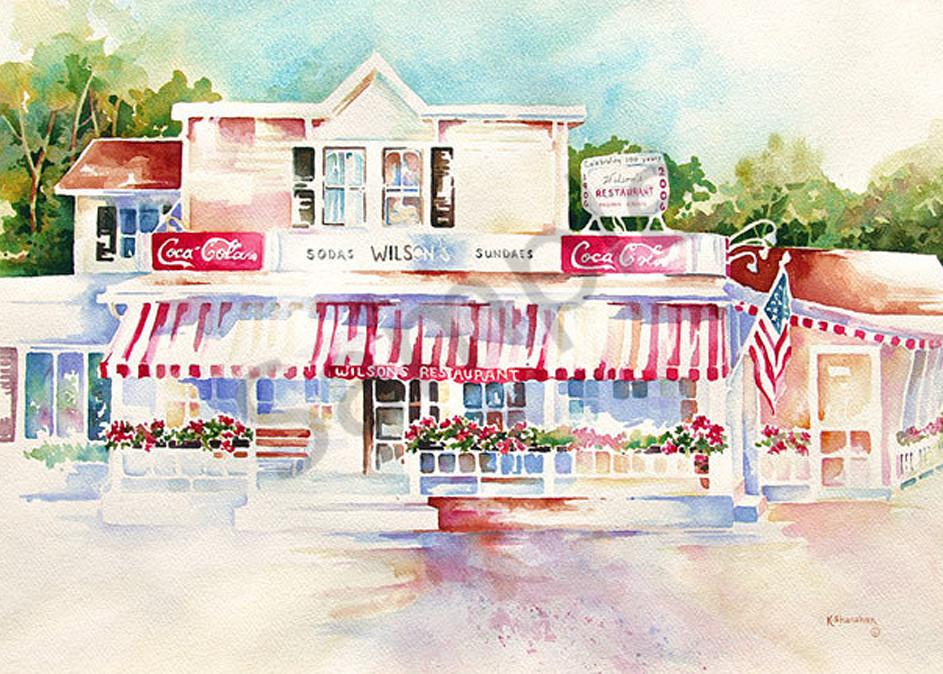 Wilson's fine art print by Karen Shanahan.