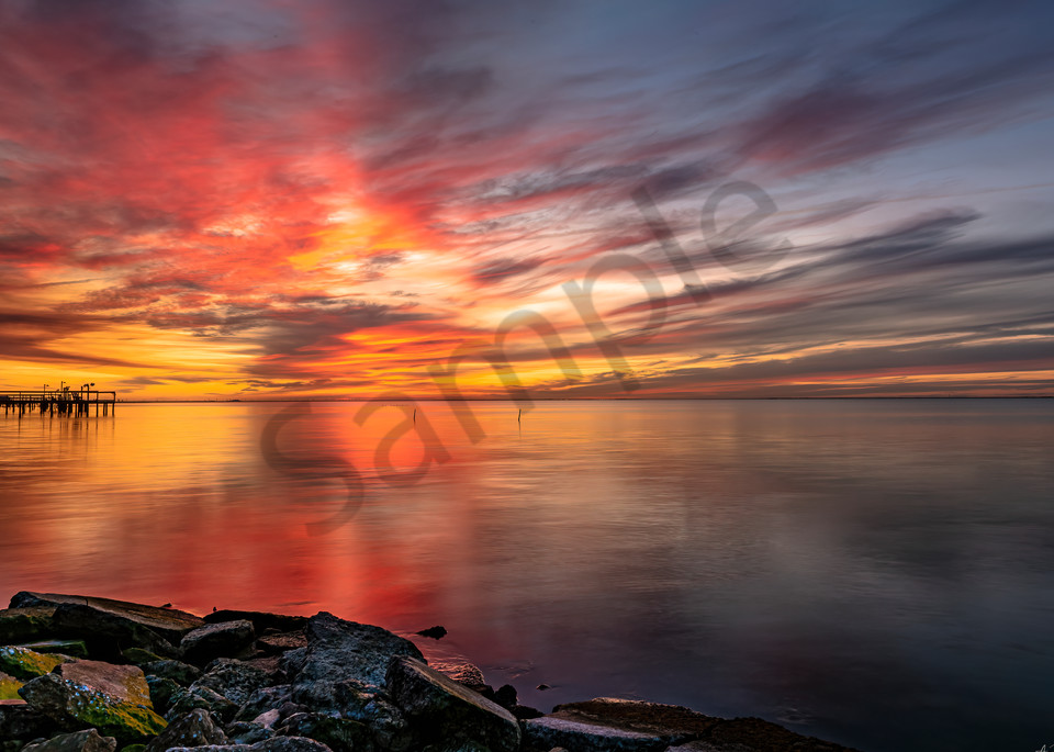 Tangerine Sky Photography Art | Feather Flare Photography