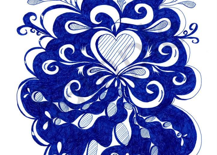 Love illustration by Cynthia Mosser