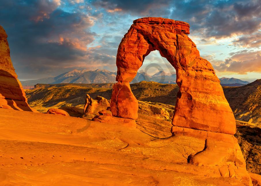 Art Print Arches National Park Moab Utah Delicate Arch