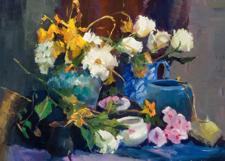 Still Life with Random Vases