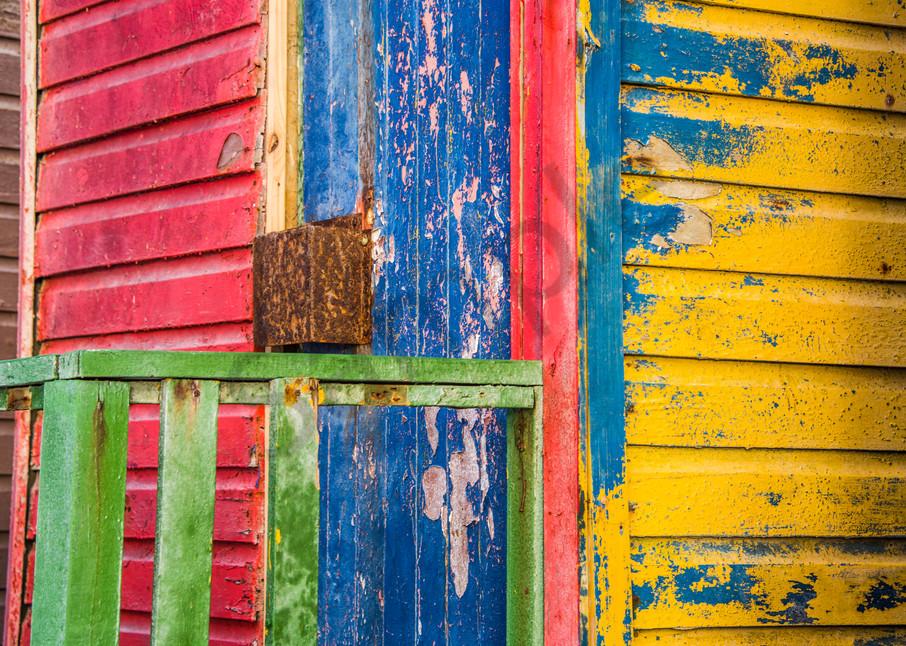 Abstract cabanas