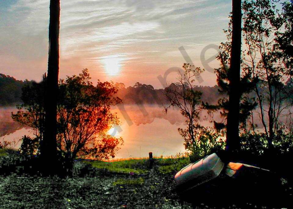 Lake Sunrise Photography Art   It's Your World - Enjoy!