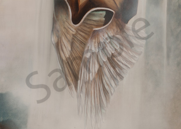 """""""Helmet Of Salvation"""" by New Zealand Artist Liezl Viljoen   Prophetics Gallery"""