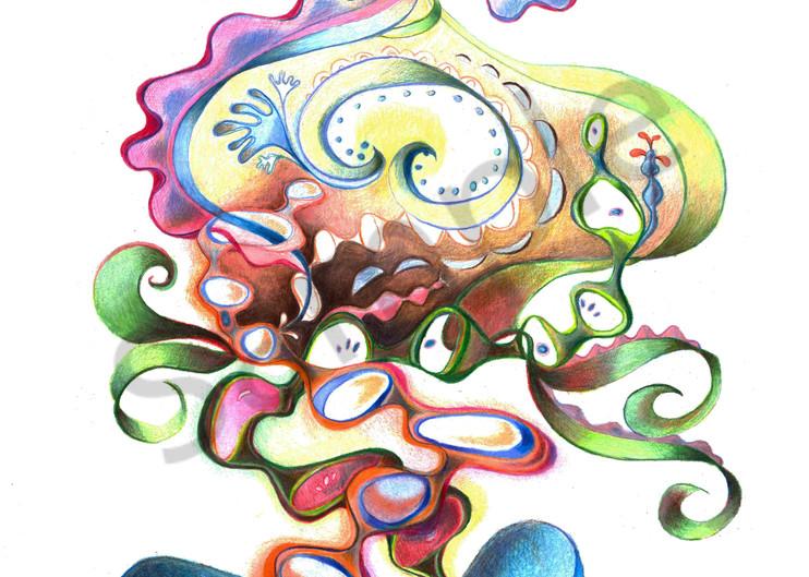 Egg Aura IV by artist Cynthia Mosser