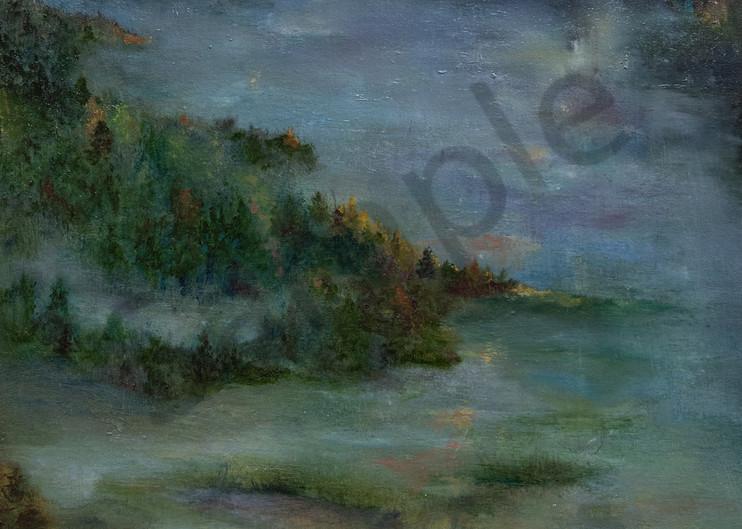 """Heaven Meets Earth"" by Pennsylvania Artist Nancy Swope | Prophetics Gallery"