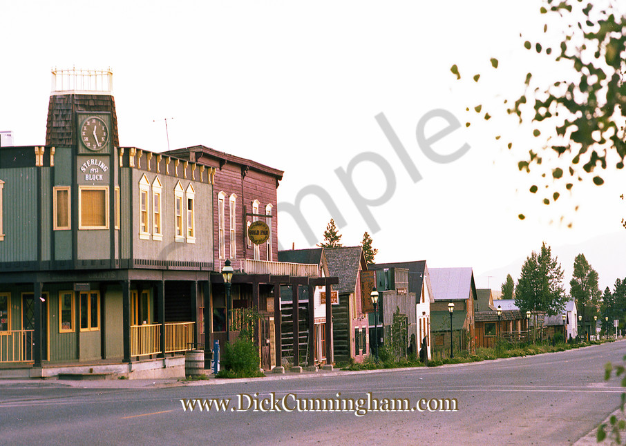 Corner Main Lincoln 1979 Art | Cunningham Gallery