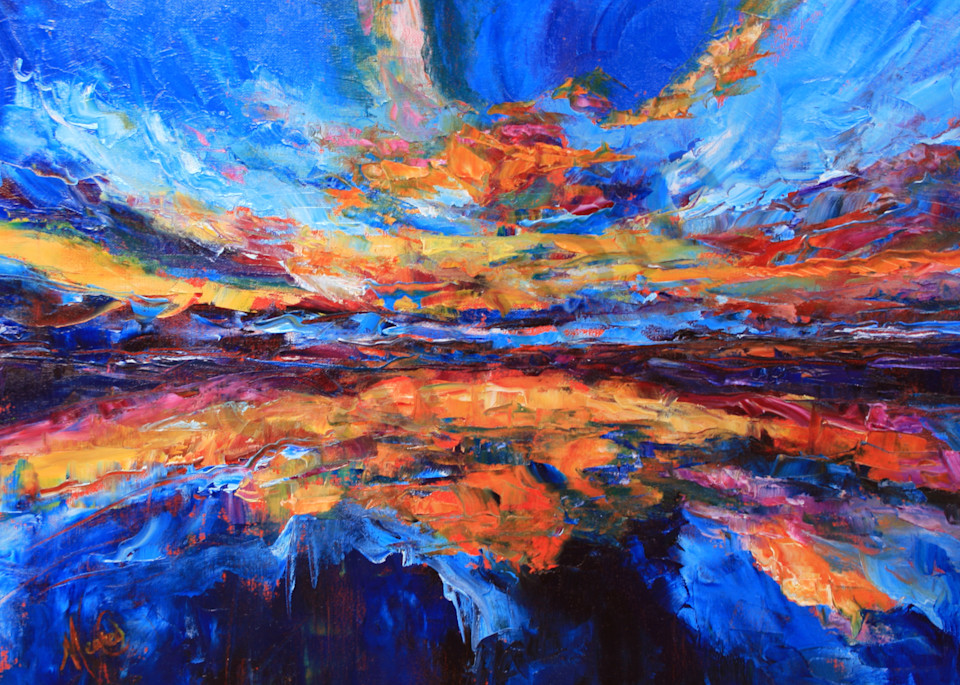 """""""Breakthrough Reflections"""" by California Artist Mary Crawford 