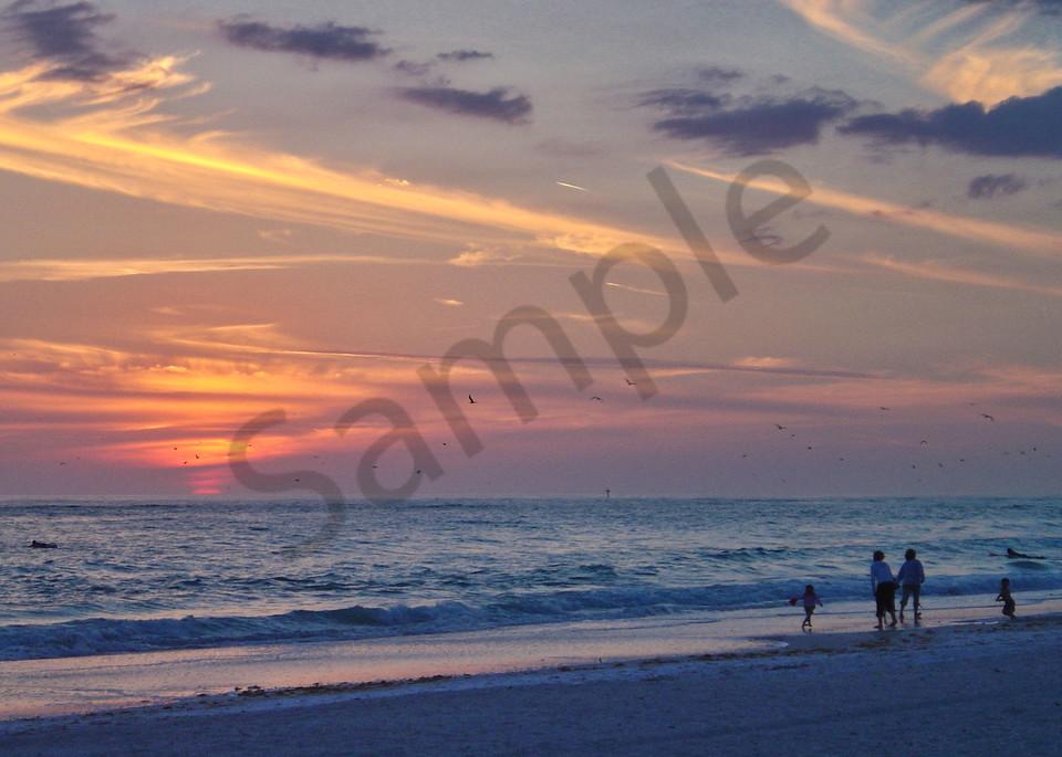 Siesta Sunset Photography Art | It's Your World - Enjoy!