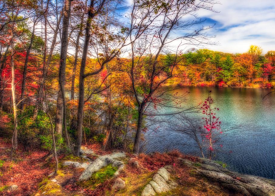 Hessian Lake in the Fall