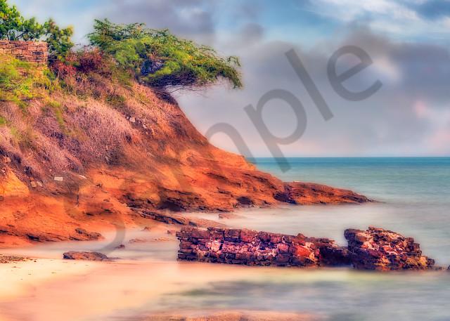 Beach scene in Antigua, West Indies