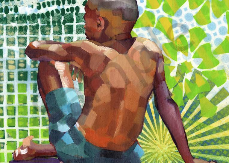 Fine Art Print: Caribbean Beach Scene I Art | Bianca Berends