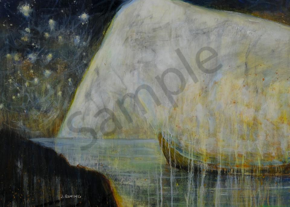 Night Ice  Art | Jennifer Ewing