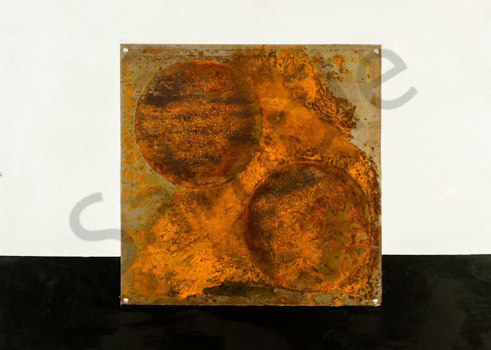 Twin Spheres  Art | Adam Shaw Gallery