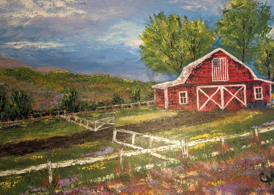 In Green Pastures Art | Carol Moon Art