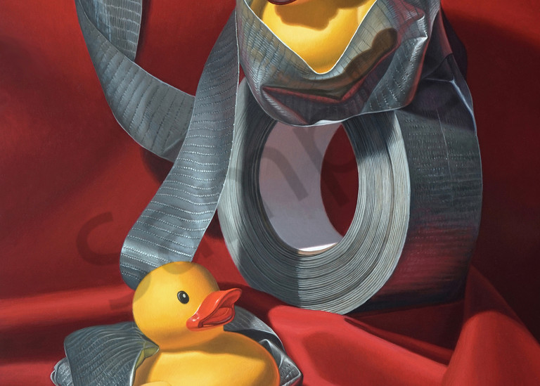 """""""Duck Tape"""" print by Kevin Grass"""