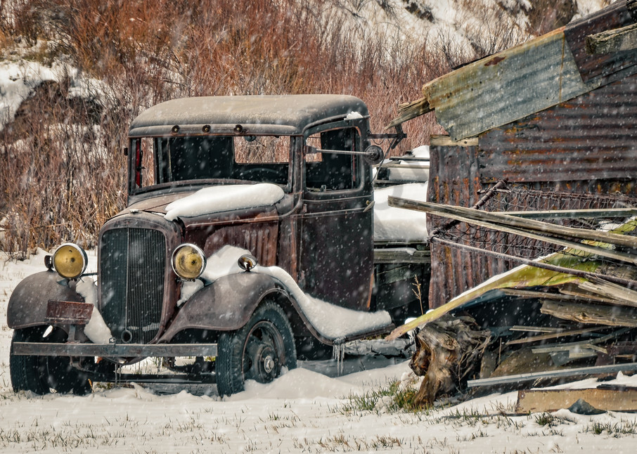 Snow Shed Photography Art | Ken Smith Gallery