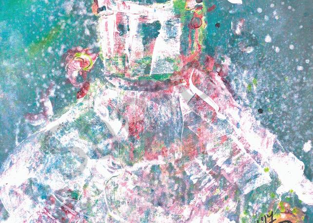 """A Dress For A Little Girl"" by UK Artists Rachel Oxborough   Prophetics Gallery"