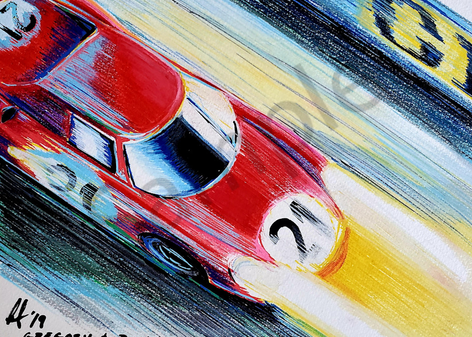 Le Mans 1965 Art | Motorart 27