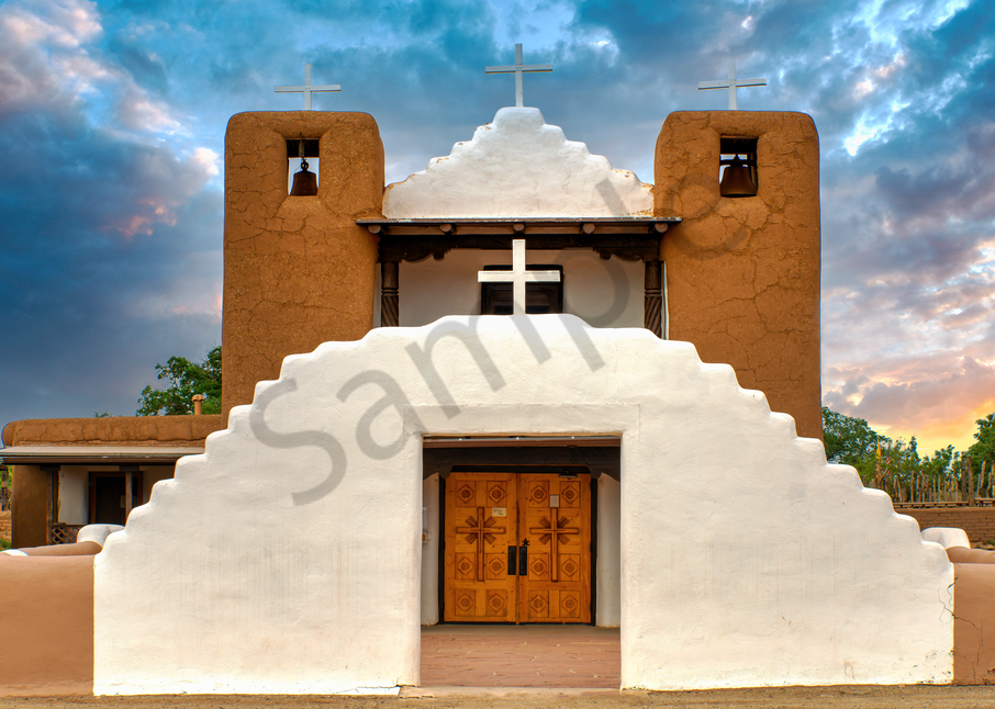 Spanish Mission Photography Art | Images by Louis Cantillo