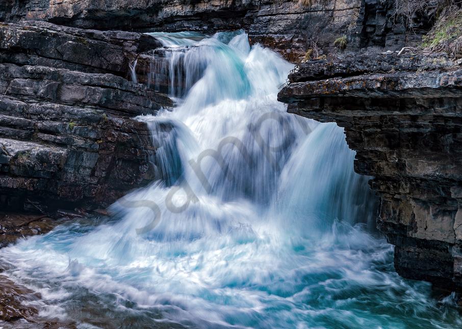 Print Art Jasper National Park Alberta Canada Athabasca River