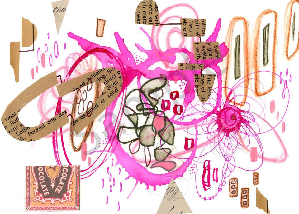 Pink Chocolate Art | Kyle Creative